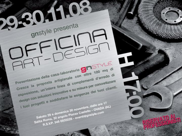 INAUGURAZIONE OFFICINA ART DESIGN
